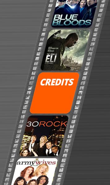 Strickland's Set Services film credits