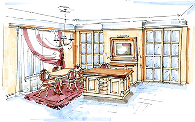 Set decorators sketch